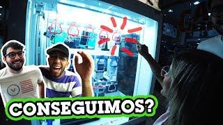 FU GASTOU TODO MEU DINHEIRO NA MÁQUINA DE PEGAR IPHONE!!! (KEY MASTER)