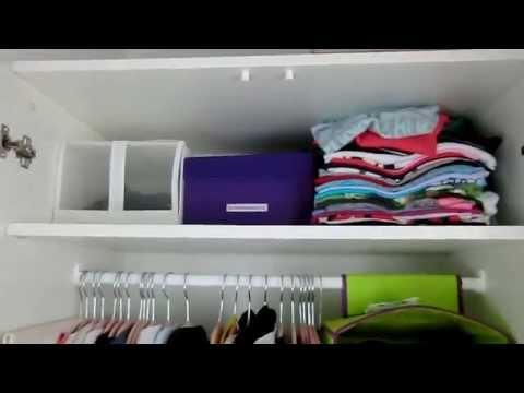 Ordnungstipps - für kleine Kleiderschränke