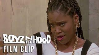 BOYZ N THE HOOD (1991) Clip – Who's That featuring Regina King