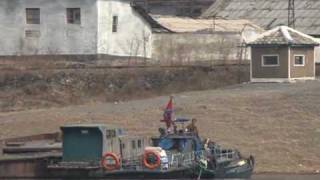 A rare glimpse into N.Korea from across the Yalu river