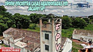 Drone encontra casas abandonadas em Jacarei SP! (FPV exploratório)
