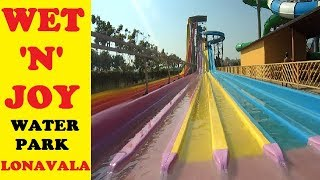 Wet n Joy Water Park Lonavala || Amazing experience November 2018