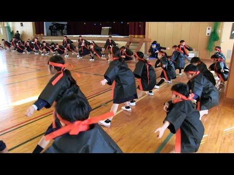 種子島の学校活動:榕城小学校4年生半成人式2018年