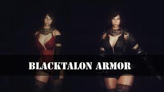 TES 5: Skyrim | Броня черного когтя для UNP