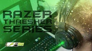 Обзор линейки игровых гарнитур — Razer Thresher!