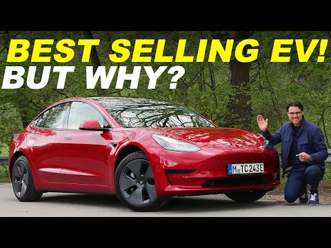Why is it the most sold EV? Tesla Model 3 SR+ Facelift 2021 REVIEW with 20-80% V3 Supercharger test