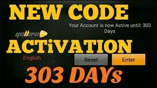 NEW CODE ACTIVATION YELLOW IPTV FOR 303 DEYS (2018)