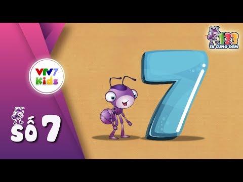 123 ta cùng đếm: số 7