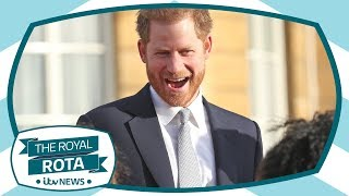 Our royal team on Prince Harry's first public engagement since his and Meghan's bombshell | ITV News