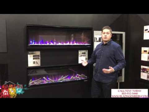 Brand NEW! Napoleon Built in Electric Fireplace Allure series product review