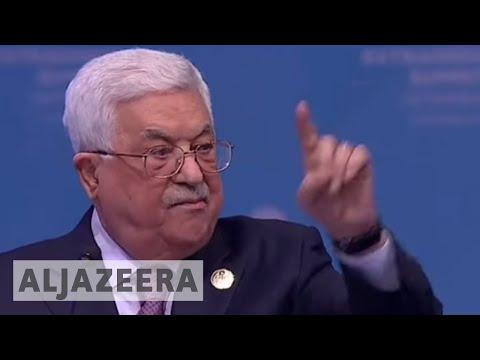 Palestine president   US can no longer mediate peace process