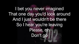 702 - You'll Just Never Know (Lyrics)