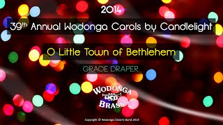 preview picture of video 'Wodonga Brass - O Little Town of Bethlehem'
