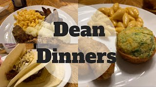 Dean Dinners || COOK WITH ME || #whatsfordinner
