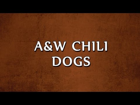 A&W Chili Dogs | RECIPES | EASY TO LEARN