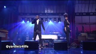 Will.i.am - This Is Love Feat. Eva Simmons (David Letterman Live)