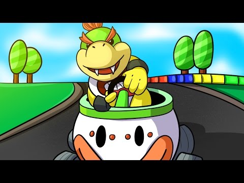 THE BIGGEST TRYHARD!! - Mario Kart 8 Deluxe Funny Moments