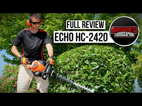 Echo HC-2420 Hedge Trimmer Review | Pros & Cons #Echoking