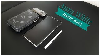 Samsung Galaxy Note 10 Plus | Unboxing Review - Aura White Impressions