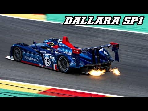 2001 DALLARA SP1 - JUDD V10 sounds & flames (Spa classic 2019)