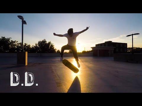 Skateboarding in Downtown Douglasville