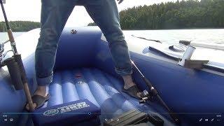 Пвх лодка с деревянным дном
