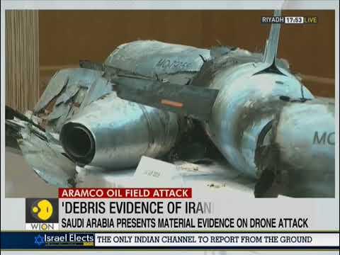 Aramco Drone Attack: Saudi Arabia Presents Evidence