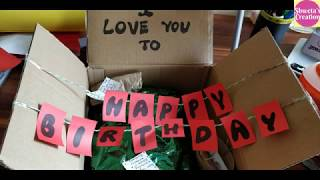 Birthday Surprise Ideas | Birthday Surprise Gift Ideas | 10 DIY Gifts For Husband