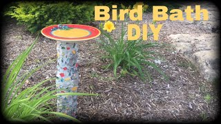 Dollar Tree DIY Bird Bath | Bird Bath DIY