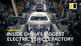Behind the scenes at BYD Auto: China's biggest electric vehicle factory