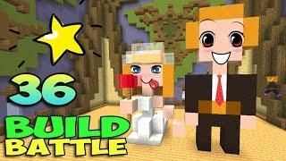 ч.36 Minecraft Build Battle - Молодожёны и Хомяк