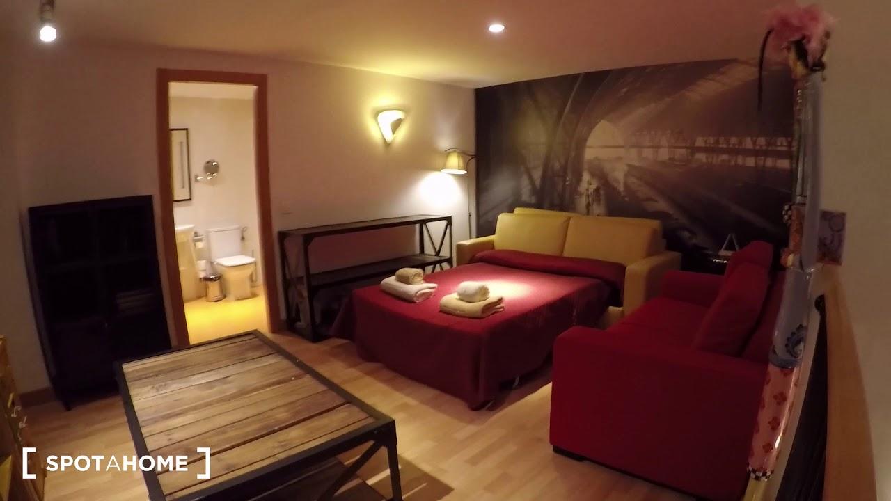 Independent studio apartment for rent in Horta-Guinardó