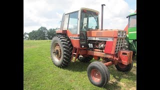 1977 IHC 1086 Tractor with 4067 Hours Sold on Ohio Farm Auction Yesterday