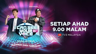 [LIVE] I Can See Your Voice Malaysia (Musim 3) Minggu 8 - MK (K-Clique) | #ICSYVMY