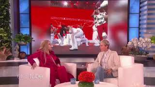 Cardi B Shows Ellen How She Got Pregnant