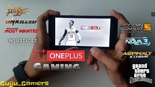 Oneplus 5 HD Gaming Review (9 HD Games)