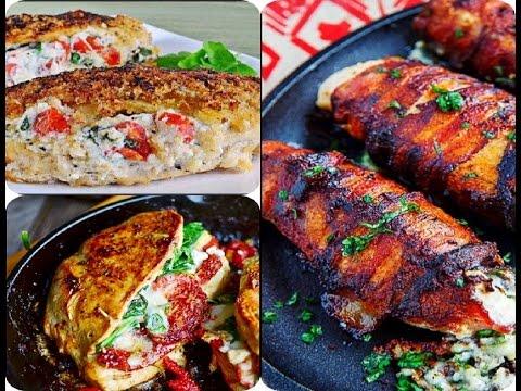 Video 3 Delicious Stuffed Chicken Breast Recipes