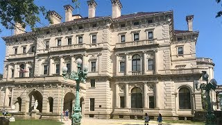 Touring The Breakers Mansion, Newport, Rhode Island