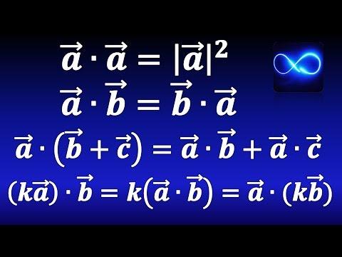 32. Propiedades del producto punto. Con demostración | Cálculo vectorial