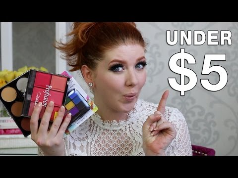 Cheap Makeup Tutorial | Nothing Over $5 Makeup Look TAG
