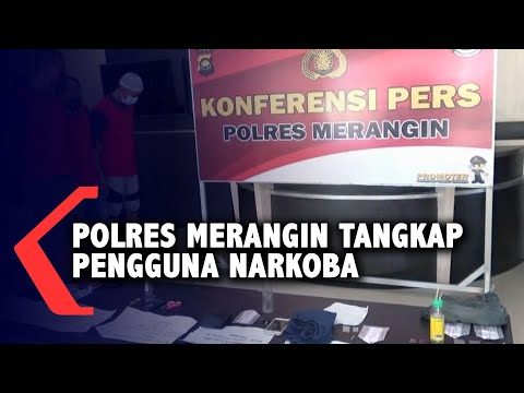 polres merangin tangkap pengguna narkoba