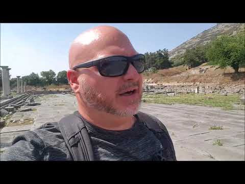ANCIENT PHILIPPI, GREECE!! Backpacker Mike explores the ancient Roman Ruins!