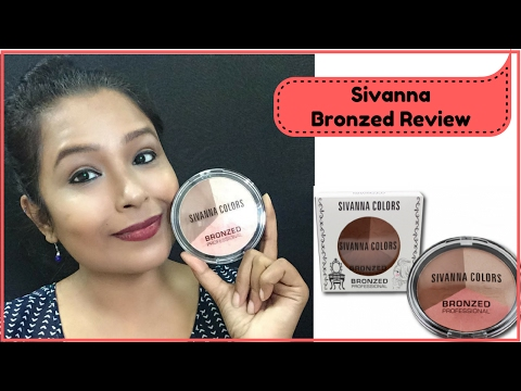 Sivanna Bronzed Review | Swatches | How to Highlight & Contour