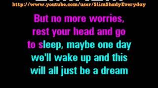 [HD] Eminem - Mockingbird Karaoke