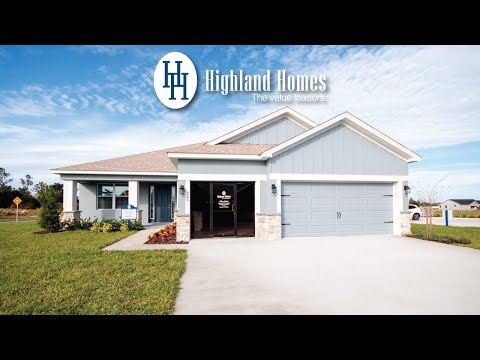 Waylyn home plan by Highland Homes - Florida New Homes for Sale