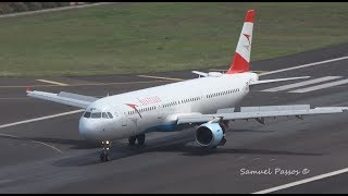 WINDY LANDINGS, GO AROUNDS and TAKE OFFS in Madeira