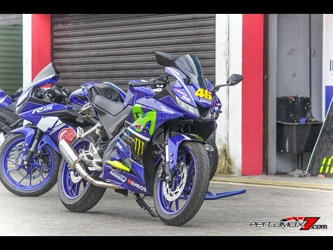 Video Modifikasi Yamaha All New R15 Movistar MotoGP