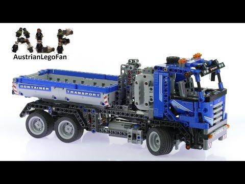 Vidéo LEGO Technic 8052 : Le camion conteneur motorisé