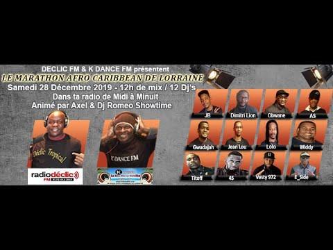 Vidéo Youtube - MARATHON AFRO CARIBBEAN DE LORRAINE