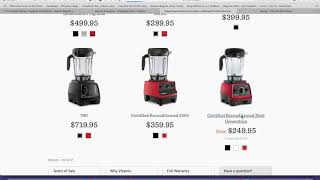 Vitamix for just over $200 What a steal Hurry and get this deal Honey!